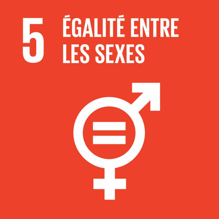 5. Égalité entre les sexes