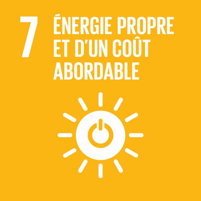 7. Énergie propre et d'un coût abordable