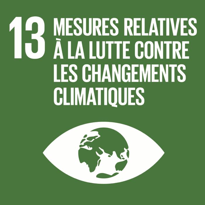 13. Mesures relatives à la lutte contre les changements climatiques