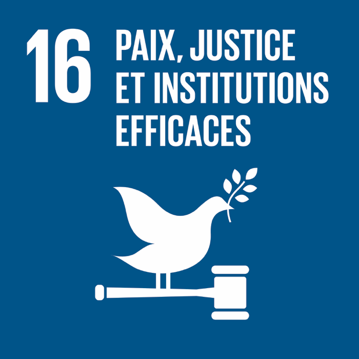 16. Paix, justice et institutions efficaces