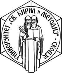 Université Sainte Cyrille et Méthode din Skopje – Macédoine du Nord